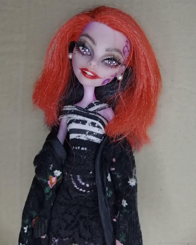 OOAK Monster High / ООАК Монстр Хай, Шарнирная кукла, Москва,  Фото №1
