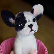 Куклы и игрушки ручной работы. Ярмарка Мастеров - ручная работа Французская бульдожка Си-Си.. Handmade.