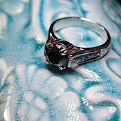 Украшения handmade. Livemaster - original item 17p Black diamond ring
