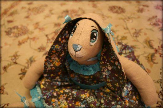 """Игрушки животные, ручной работы. Ярмарка Мастеров - ручная работа. Купить коллекционная кукла """" Зайка Марита"""". Handmade."""