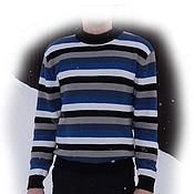 Одежда ручной работы. Ярмарка Мастеров - ручная работа Пуловер мужской. Handmade.