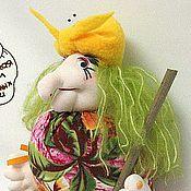 Куклы и игрушки ручной работы. Ярмарка Мастеров - ручная работа Кукла Бабуля Ягуля. Handmade.