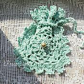 Для дома и интерьера ручной работы. Ярмарка Мастеров - ручная работа Кружевной мешочек для саше. Handmade.