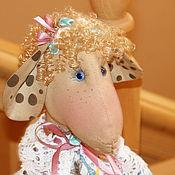Куклы и игрушки ручной работы. Ярмарка Мастеров - ручная работа Овечка Аграфена Кузьминична. Handmade.