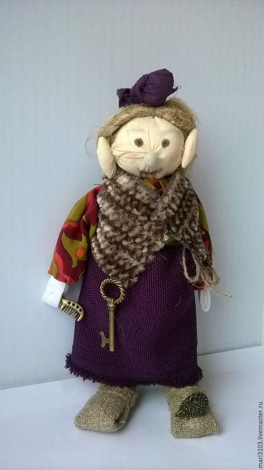 Народные куклы ручной работы. Ярмарка Мастеров - ручная работа. Купить Воструха хранительница богатства в доме. Handmade. Комбинированный, домовые