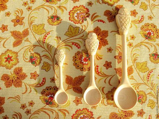 Кухня ручной работы. Ярмарка Мастеров - ручная работа. Купить Ложки из дерева. Handmade. Кедр, ложки, изделия из дерева