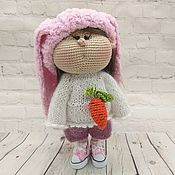 Куклы и пупсы ручной работы. Ярмарка Мастеров - ручная работа Куклы и пупсы: Кукла Зая. Handmade.