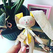 Подарки к праздникам ручной работы. Ярмарка Мастеров - ручная работа Зайчики. Handmade.