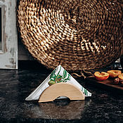 Для дома и интерьера handmade. Livemaster - original item Napkin holder (napkin holder) made of Siberian cedar S1. Handmade.