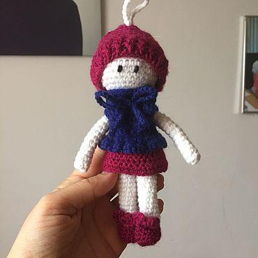 Куклы и игрушки ручной работы. Ярмарка Мастеров - ручная работа Милая девчонка Марта. Handmade.