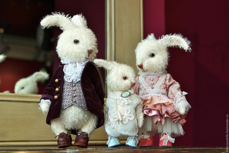 Friends Teddy. The author's work. Happy family, Stuffed Toys, Vladikavkaz,  Фото №1