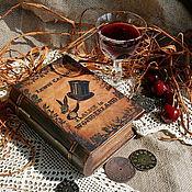 """Для дома и интерьера ручной работы. Ярмарка Мастеров - ручная работа шкатулка-книга """"Alice in Wonderland"""". Handmade."""