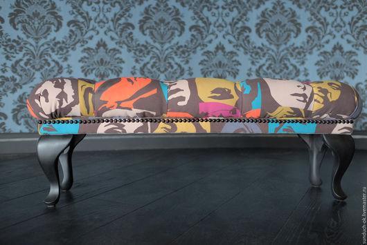 Мебель ручной работы. Ярмарка Мастеров - ручная работа. Купить Пуф. Handmade. Комбинированный, интерьер, дерево
