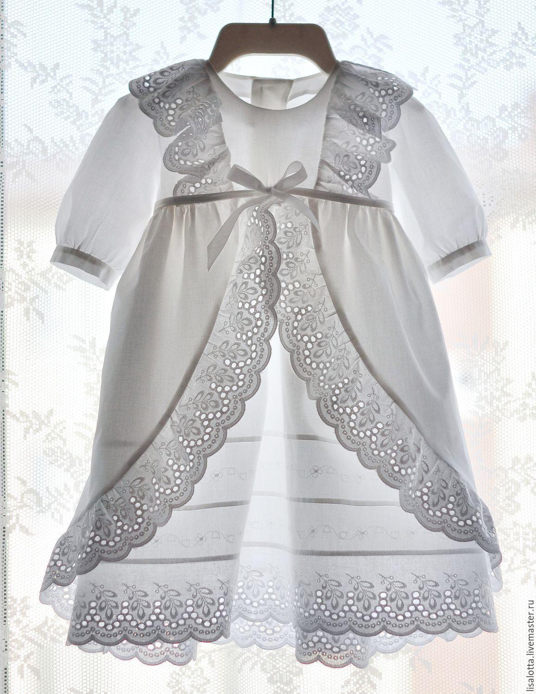 Платья для крещения для новорожденных девочек своими руками фото 79