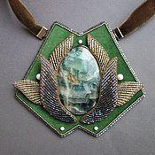 Украшения handmade. Livemaster - original item Necklace SPRING RHAPSODY fluorite, beads, kanitel, pearls. Handmade.