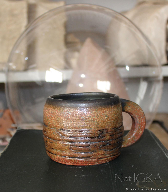 Гончарная кружка 6, Кружки и чашки, Новосибирск,  Фото №1