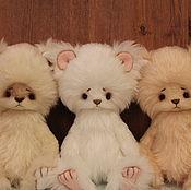 Куклы и игрушки ручной работы. Ярмарка Мастеров - ручная работа Мишки Тройняшки. Handmade.