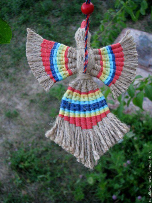 Народные куклы ручной работы. Ярмарка Мастеров - ручная работа. Купить Птица счастья. Handmade. Комбинированный, подарок на любой случай