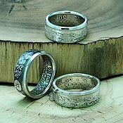Украшения handmade. Livemaster - original item A ring from a silver coin 50 sen, Japan. Handmade.