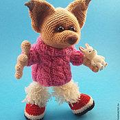 Куклы и игрушки ручной работы. Ярмарка Мастеров - ручная работа Лисонька Подлизка. Handmade.