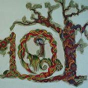 Дизайн и реклама ручной работы. Ярмарка Мастеров - ручная работа пример росписи стены. Handmade.