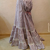 Одежда ручной работы. Ярмарка Мастеров - ручная работа Викторианская нижняя юбка, историческая реконструкция. Handmade.