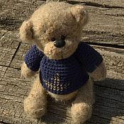 Куклы и игрушки ручной работы. Ярмарка Мастеров - ручная работа Медвежонок- морячок. Handmade.