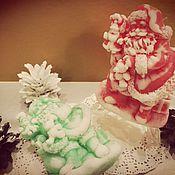Косметика ручной работы. Ярмарка Мастеров - ручная работа мыло дед мороз. Handmade.