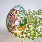 Яйца ручной работы. Ярмарка Мастеров - ручная работа Пасхальная Русь, яйцо расписное. Handmade.