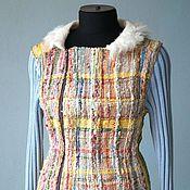 """Одежда ручной работы. Ярмарка Мастеров - ручная работа Жакет  """"Осенний"""", самотканый. Handmade."""