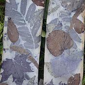 Аксессуары handmade. Livemaster - original item Eco Tights, contact dyeing or Eco-prints.( cotton). Handmade.