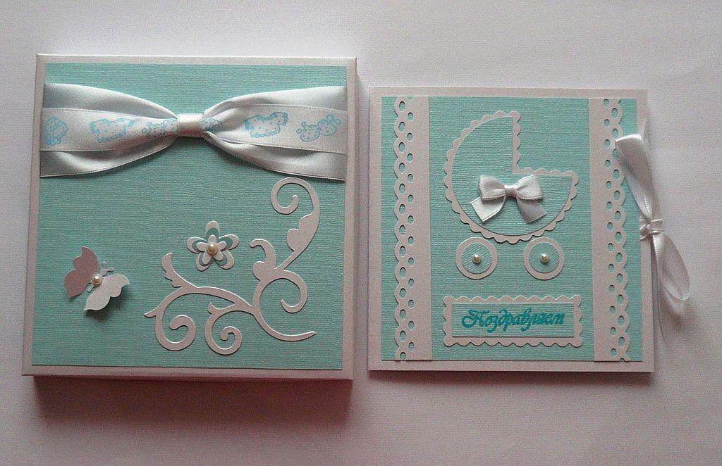 Скрапбукинг открытки рождение мальчика