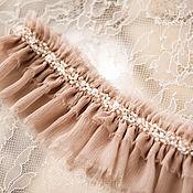 Свадебный салон ручной работы. Ярмарка Мастеров - ручная работа Шелковая подвязка невесты. Handmade.