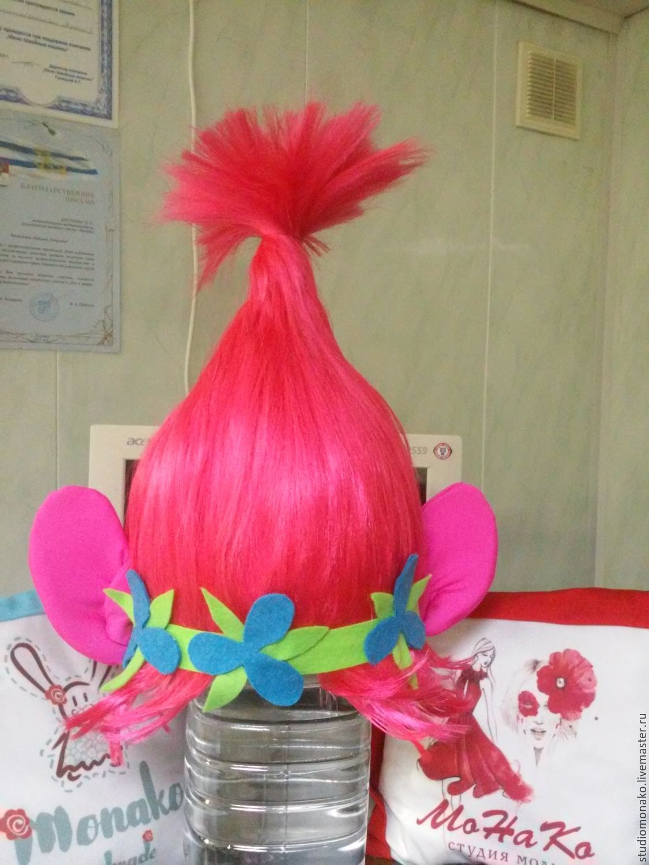 Как сделать парик тролля розочки своими руками фото 414