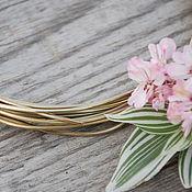 Материалы для творчества handmade. Livemaster - original item 2,0 mm brass wire. Handmade.