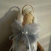 Куклы и игрушки ручной работы. Ярмарка Мастеров - ручная работа Зимняя тильда. Handmade.