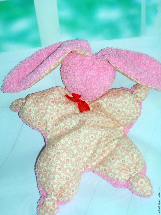 Игрушки животные, ручной работы. Ярмарка Мастеров - ручная работа. Купить Игрушка -сплюшка для сна ( зайка, игрушка, сон). Handmade.
