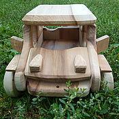 Куклы и игрушки ручной работы. Ярмарка Мастеров - ручная работа Машинка Жип Широкий(Jeep Cherokee). Handmade.