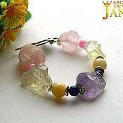 Украшения handmade. Livemaster - original item Bracelet with nuggets stones. Handmade.