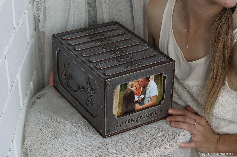 Большой фотокороб / фотобокс с альбомами, Фотоальбомы, Екатеринбург, Фото №1