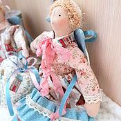 Куклы Тильда ручной работы. Ярмарка Мастеров - ручная работа Игрушки Сплюшки в стиле тильда, ангел сплюх. Handmade.