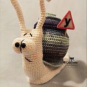Куклы и игрушки handmade. Livemaster - original item Snail Have. Handmade.