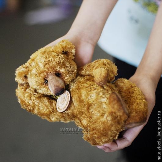 Мишки Тедди ручной работы. Ярмарка Мастеров - ручная работа. Купить Golden Fell.  мишка-тедди Золотое Руно. Handmade.