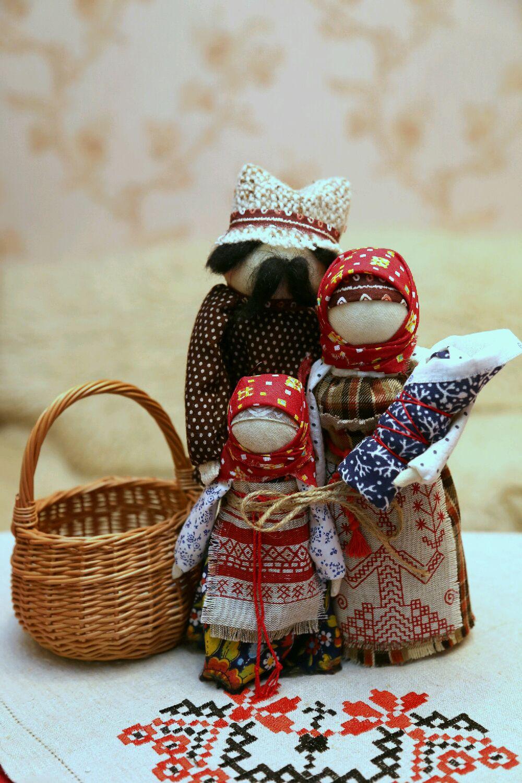 Кукла оберег семья своими руками