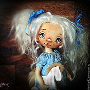 Куклы и игрушки ручной работы. Ярмарка Мастеров - ручная работа Надюшка. Текстильная кукла.. Handmade.