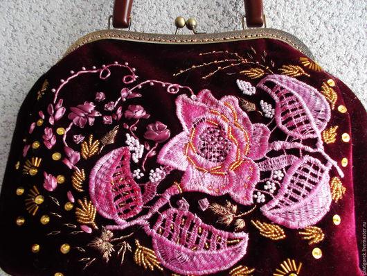 Женские сумки ручной работы. Ярмарка Мастеров - ручная работа. Купить сумки. Handmade. Сумка женская, чёрно-белый