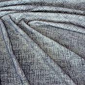 Материалы для творчества handmade. Livemaster - original item Natural suede 0,5 mm Grey-black mesh. Handmade.