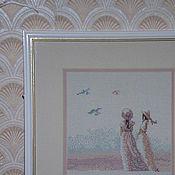 Картины и панно ручной работы. Ярмарка Мастеров - ручная работа Вышивка. Handmade.
