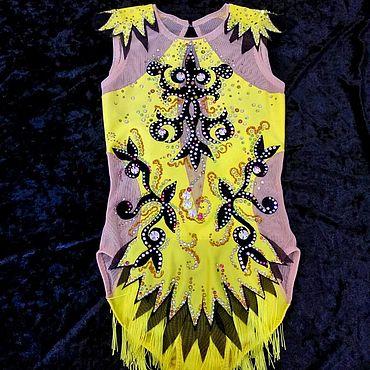 Одежда ручной работы. Ярмарка Мастеров - ручная работа Купальники для художественной гимнастики. Handmade.