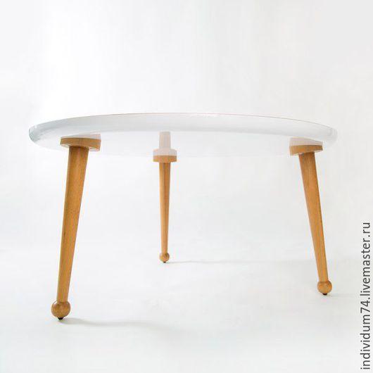 Мебель ручной работы. Ярмарка Мастеров - ручная работа. Купить Столик журнальный. Handmade. Массив шпона, натуральные материалы